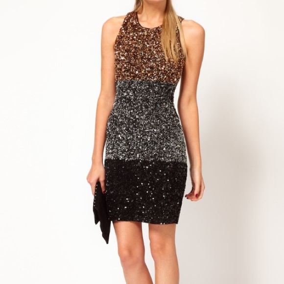 9cdef622374 French Connection Dresses   Skirts - French Connection Sequin Holiday  New  Years Dress